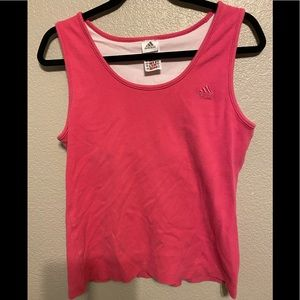 Adidas Tank Top with built in sports bra XL